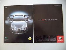 advertising Pubblicità 2001 ALFA ROMEO 147