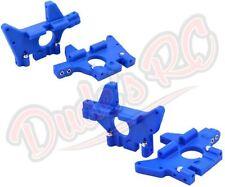 RPM Traxxas T-Maxx 2.5 3.3 Blue Front & Rear Bulkheads 81065 81075