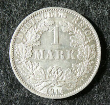 1 Mark 1914 A, vorzüglich....!!⓴