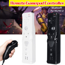 2in1 Motion Plus Remote Nunchuck Game Controller For Nintendo Wii Wii U  D T