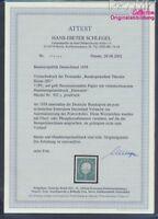 BRD 302y geprüft mit Attest postfrisch 1959 Heuss (III) (8910551