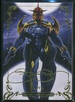 2018 Marvel Masterpieces Gold Foil Trading Card #38 Nova (Tier 2)