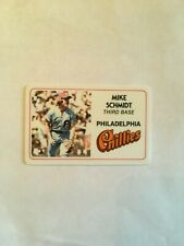 New listing 1981 Mike Schmidt Perma Graphics Superstar Credit Card # 20