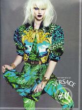 Versace for H&M Leopard Print Velvet Bomber Jacket  Euro Size 2    US -S   NEW