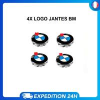 4x Logo jante pour BMW Cache Moyeu insigne 68mm Centre De Roue Neuf