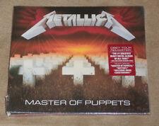 METALLICA Master of Puppets CD 1986 Remastered 2017 États-Unis d'importation remaster NEUF neuf dans sa boîte *