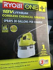 Ryobi One+ 18V Cordless Chemical Sprayer Mister W/ Battery & Charger Not Fogger
