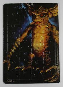 1990 Warner Bos GREMLINS 2 GEORGE W/ CIGAR PUZZLE Spanish Vintage HTF Algaida