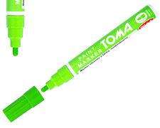 Light Green Permanent Oil Based Paint Pen Car Bike Tyre Metal Marker Waterproof