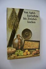 """DDR Kochbuch """"Von Apfelkartoffeln bis Zwiebelkuchen"""" 1984"""