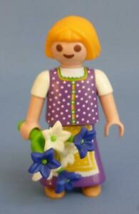 Playmobil Bavarian Child - Girl Figure NEW for Alpine Mountain Country Sets