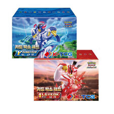 "Korean Pokemon ""Single Rapid Strike Matchless Fighters Card Box Set"" s5r s5a s5i"