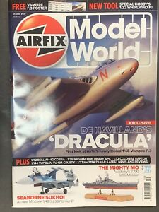 AIRFIX MODEL WORLD MAGAZINE ISSUE OCTOBER 2021