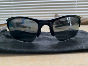 Oakley Half Jacket 2.0 Polarized Sunglasses - Polished Black - FREE SHIPPING