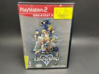 Kingdom Hearts 2 - (Sony PlayStation 2, 2004) Complete Tested Working PS2 Disney