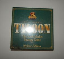 TYCOON - THE STOCK MARKET STRATEGY GAME- Deluxe Edition 2000 Factory Sealed NEW