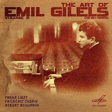 ART OF EMIL GILELS, VOL. 2  CD F.LISZT, F.SCHOPIN,SCHUMAN
