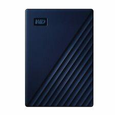 WD 5TB My Passport for Mac Portable External Hard Drive - Blue, USB-C/USB-A