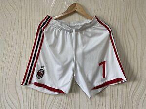 MILAN 2009 2010 FOOTBALL SOCCER SHORTS ADIDAS E84200 # 7
