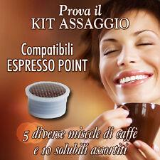 KIT ASSAGGIO - 50 CAPSULE Cialde Caffè compatibili Lavazza Espresso Point