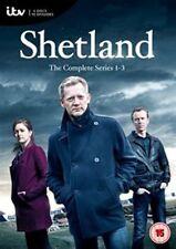 Shetland Series 1 + 2 + 3 Season 3 2 1 Complete Collection New DVD