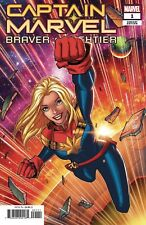CAPTAIN MARVEL BRAVER & MIGHTIER #1 NM Cover B – Ron Lim Variant MARVEL 2019