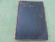 WESLEYAN TUNE BOOK - 1877