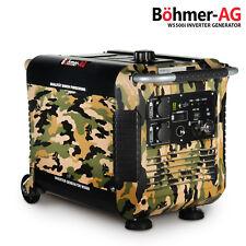 Portable Inverter Petrol Suitcase Generator - W5500i 3.8KVA / 3.0KW - Camping