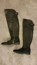 All Saints thigh high Leather Boots, Size 5