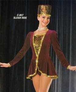 Christmas Dance Costume Ballet Professional Sleigh Ride