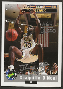 1992 Classic Draft Picks Shaquille O'Neal Rookie Autograph /2500