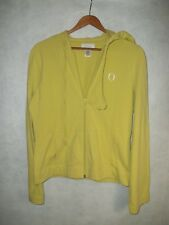 Oprah Show Yellow Green Jacket. Long sleeve, O Lightweight Layer Hoodie Size M