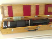 Auto Nikkor Telephoto Zoom 200 - 600mm Nippon Kogaku Lens W / Orig. Case Papers