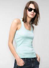 Camisas y tops de mujer verdes Mango