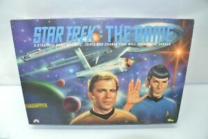 Complete 1992 Star Trek: The Game Board Game Collectors Edition #75,567