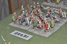 25mm roman era / gaul - warriors 24 figures - inf (23231)