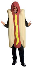 Hot Dog & Bun Food Adult Fun Poly Foam Costume Halloween Dress Rasta Imposta