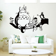Cartoon My Neighbor Totoro Wall Sticker Decal Kids Baby Nursery Room Mural Art