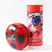 Miraculous Ladybug Vitamin Candy 700mg*18EA & YOYO Flashing Light Up Clutch Ball