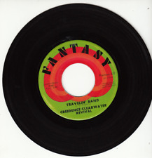 CREEDENCE CLEARWATER REVIVAL - TRAVELIN' BAND - ORIGINAL 45 - GREAT SHAPE