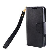 Schwarze Taschen mit Kartenfach für LG Handys
