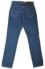 RRL RALPH LAUREN Double RL Denim Blue Jeans, Straight Leg 30/36 USA $385
