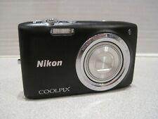 Nikon COOLPIX S2700 16.0MP Digital Camera -BLACK