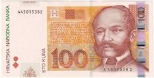 More details for 2002   croatia 100 kuna banknote   banknotes   km coins