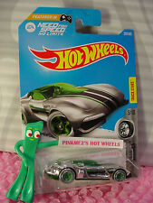 Need for Speed GAZELLA GT #207✰Super chrome/green;5sp✰2017 i Hot Wheels case J/K