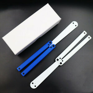 POM plastic Satefy/Durable Practice Balisong Butterfly Toy Trainer Knife