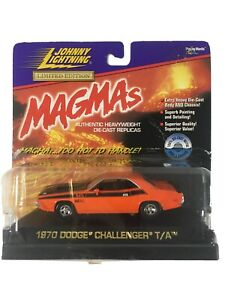 Johnny Lightning 1:43 Limited Edition MAGMAS 1971 Dodge Challenger T/A Car