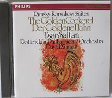 Rimsky Korsakov Suites The Golden Cockerel Tale Of Tsar Saltan David Zinman CD
