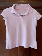 Old Navy Girls Collared Polo Uniform Shirt Size S(6-7)