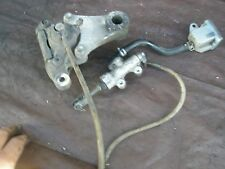 Rear brake system master caliper pads  Bandit 1200S GSF Suzuki 03 01 up #N15